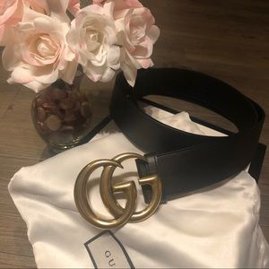 🌷Authentic Gucci Double G Belt🌷